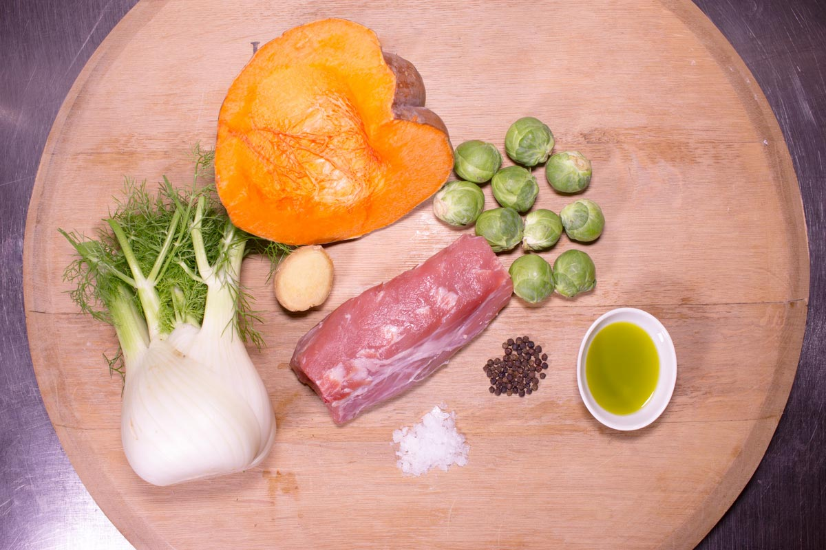 Ristorante Le Chiavi d'Oro Ricetta Carne e Verdure